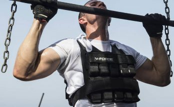 Picture of Guy Doing Weighted Vest Training