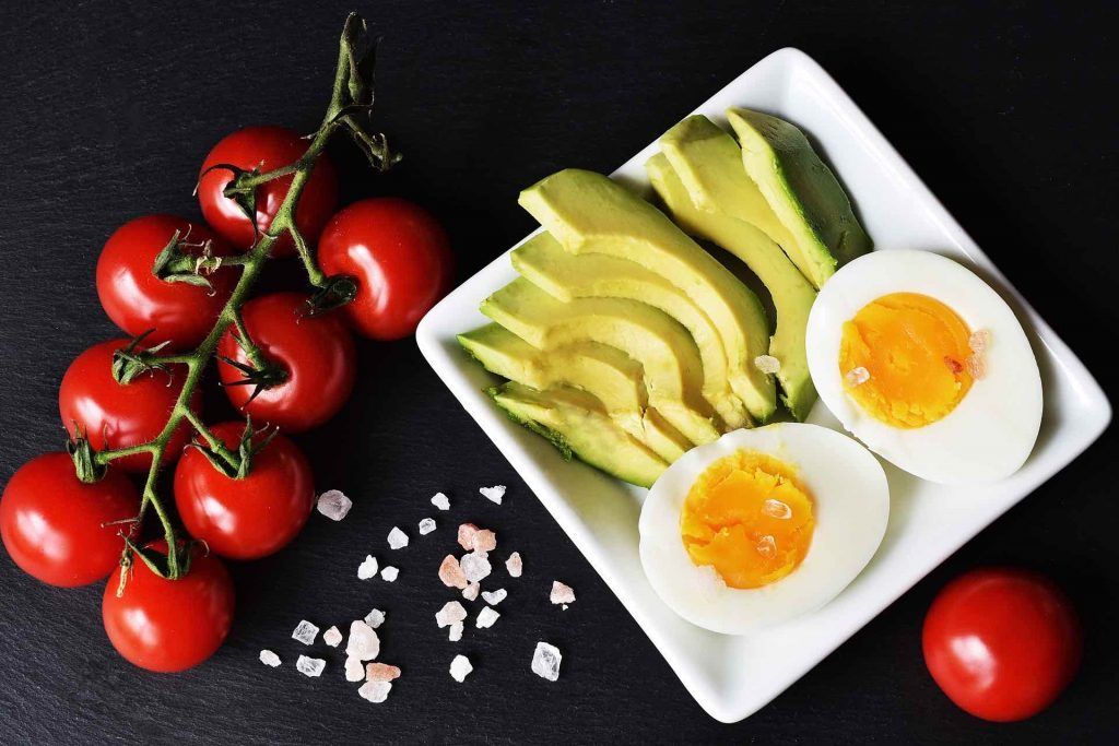 Common keto food items